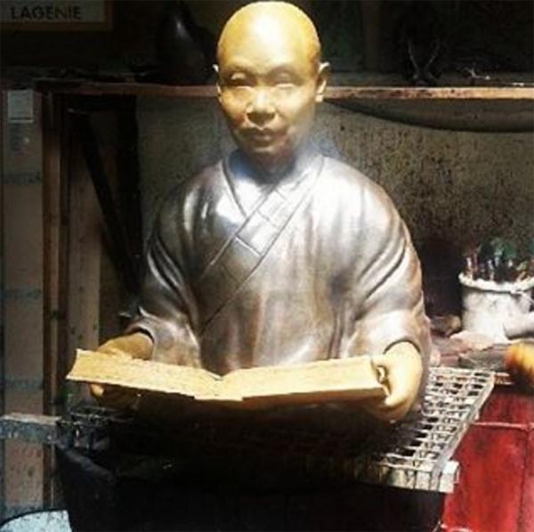 statue-bouddhiste-bronze